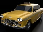 Checker Manhattan Taxi