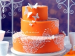 Butterfly Orange Cake In France