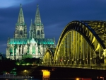Cologne Cathedral and Bridge
