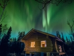Northern Lights in Yukon Region