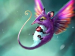 Winged Mouse Fantasy Pets
