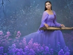 Beautiful Oriental Woman