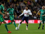 Dele Alli playing for Tottenham Hotspur versus Watford