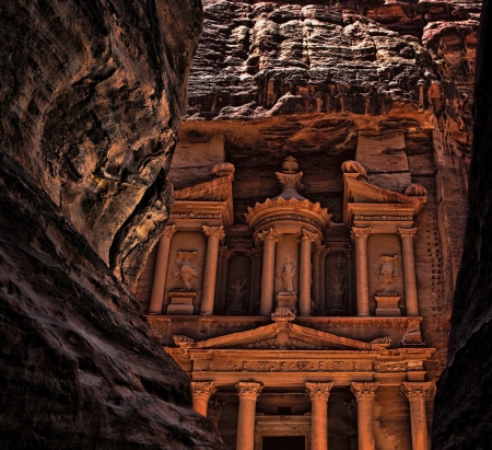 The Ancient City  of Petra - petra, city, beautiful, anceint, jordan
