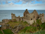 Ruins of Dunluce Castle, Ireland