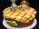 Lady And Tramp Cake