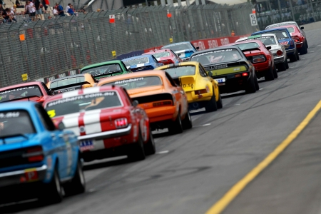 touring car masters - track, masters, toruing, car, fence