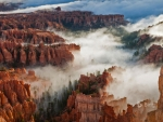 Felsformationen Bryce Canyon US