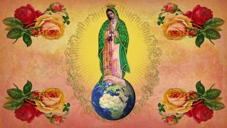 Our lady of Guadalupe - virgin, jesus, guadalupe, mary, christ