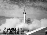 The First Rocket Launch from Cape Canaveral