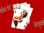 Poker Cowgirl Cards . .