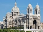 Cathedral in Marseilles, France