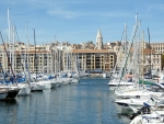 Yachts in Marseilles, France