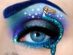 Mermaid Eye Art