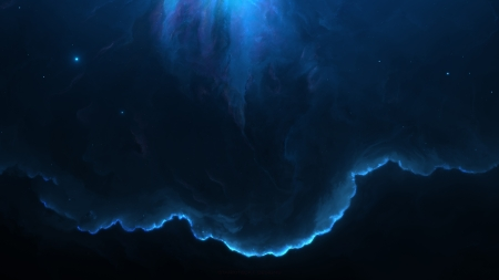 Fishtank Nebula - 3d, Starkiteckt, galaxies, space, digital art