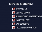 Never Gonna