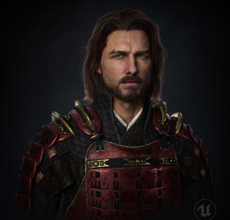 The last samurai - tom cruise, the last samurai, dsome, fantasy, luminos, 3D, man, naky solanki