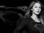 Supergirl In Black and White 2