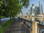 Promenade in Moscow