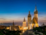 Krakow in Blue Hour