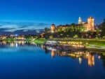 Krakow at Blue Hour