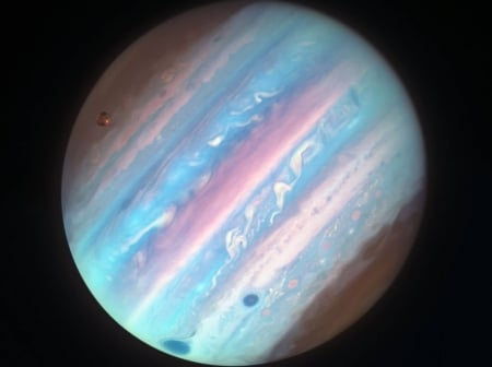 Jupiter In Ultraviolet From Hubble Planets Space