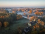 Autumn Morning in Latvia