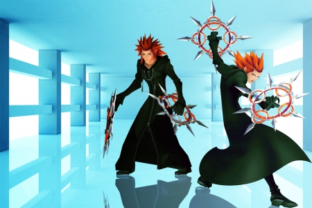 Axel - Video Game, Fighter, Kingdom Hearts, Axel