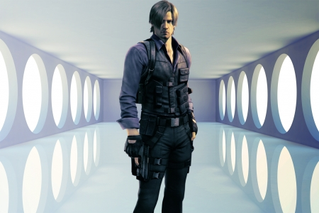 Leon S Kennedy - Resident Evil & Video Games Background Wallpapers