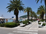 Promenade in Split, Croatia