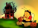 Halloween  Winnie Pooh Candy And House