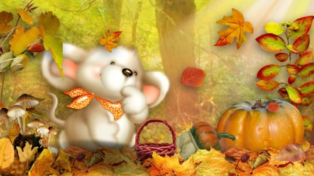 Cute Fall Wallpaper 3d And Cg Abstract Background Wallpapers On Desktop Nexus Image 2432754