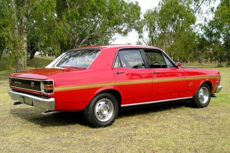 Ford Xw Falcon Gtho Phase