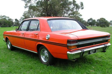 1971 ford xy falcon gtho phase 3 - tree, falcon, grass, ford