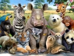 Save The Beautiful Animals