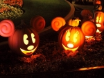 Mickey And Minnie Mouse Halloween Pumpkins