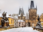 Prague city. Charles bridge