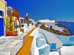 Beautiful colors of Greece