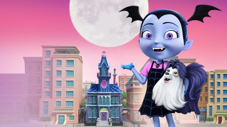 Vampirina - Vampirina, Wallpaper, Jr, Disney