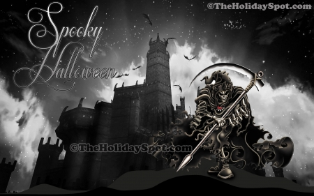 Halloween Spooky Wallpaper.Spooky Halloween Fantasy Abstract Background Wallpapers