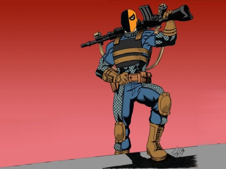 Deathstroke The Terminator - Villains, Deathstroke, Comics, Superheroes, DC Comics