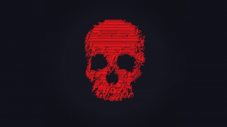 Ascii Art Skull Textures Abstract Background Wallpapers On