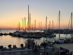 Marina at Sunset in Greece