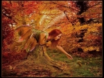 Lovely Autumn Fairy