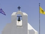 Church Bell in Aegina, Greece