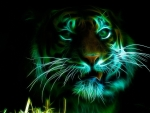 Lovely Green Tiger
