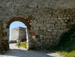 Gate in Berat, Albania