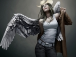 Cowgirl Angel . .