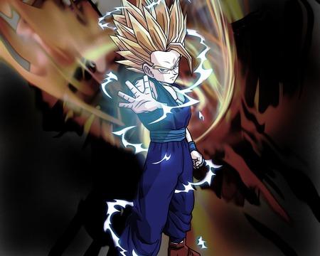 Super Saiyan 2 Teen Gohan - 2, gohan, teen, super, saiyan