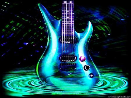 green guitar wallpaper jpg